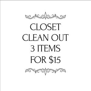 Items marked with 3/$15 🎉